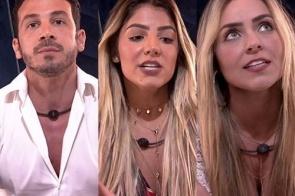 Gustavo, Hariany e Paula estão no Paredão do BBB19