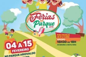 Férias No Parque: Gerência de Saúde/NASF realizam evento voltado para crianças de 7 a 11 anos