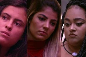 Hana, Hariany e Rízia estão no terceiro Paredão do BBB19