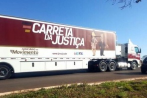 Confira o novo calendário da Carreta da Justiça em 2019