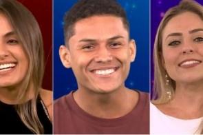 Carolina, Danrley e Paula formam o nono Paredão do BBB19