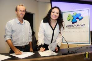 Reeleita presidente do Confaz-M/MS, Nídia Penteado defende novo Pacto Federativo
