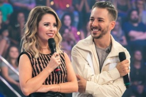 Participação de Sandy e Junior bomba em audiência e faz o Caldeirão do Huck bater recorde anual na Globo