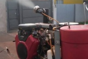 """CCZ coloca carros de fumacê para """"rodar"""" e combater a dengue"""