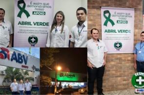 Grupo ABV apoia Abril verde e realiza ação em Memoria as vítimas de Acidentes de Trabalho.