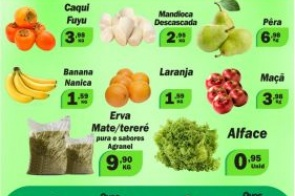 Imperdível: Confira as ofertas desta quinta-feira (02) na Frutaria Pague Pouco