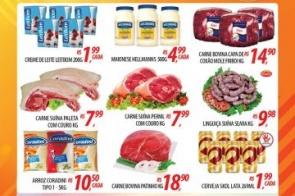 Confira as ofertas especiais do Abevê Supermercados para o fim de semana.
