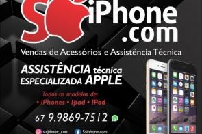 """Não é sorteio: Em Itaporã SóiPhone.com lança campanha """"Proteja seu amigo"""""""
