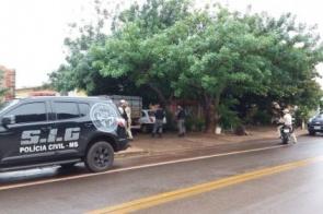 Polícia cumpre mandados de busca e apreensão em Dourados