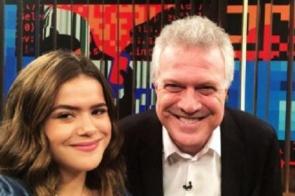 Após reclamação de Maisa, Globo volta atrás e libera Bial para entrevista