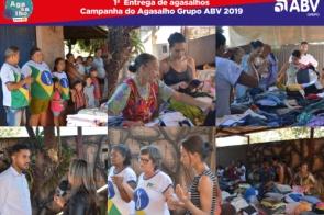 Grupo ABV faz entrega de agasalhos nos bairros Vila Nova Esperança, Jardim Pantanal e Jardim Santa Herminia