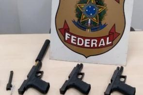 Polícia Federal prende dois moradores de Itaporã com pistolas na MS-156