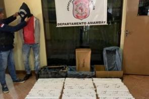 Homem é preso com dinamite e diz que receberia R$ 40 mil do PCC