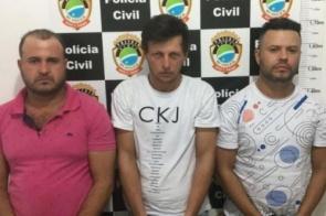Trio é preso após roubar malote com R$ 91,6 mil próximo a banco