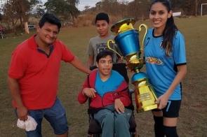 """Itaporã: Sensibilizados com estado da saúde de """"Leozinho"""" atletas do cenário nacional enviam mensagens de apoio"""