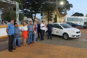 Gerência de Saúde recebe veículo Fiat Gran Siena 1.4 Zero KM adquirido com recursos próprios