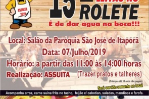 15º Edição do Leitão no Rolete acontece dia 7 de julho em Itaporã