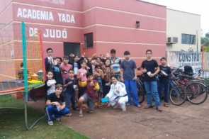 Alunos dos projetos de Judô de Itaporã participam de Festival Interno