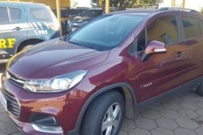 Veículo roubado em SP é recuperado após passar a divisa com MS
