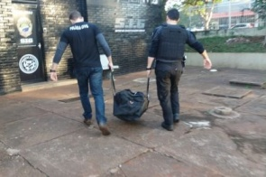 Forças policiais cumprem operação em Dourados nesta quarta