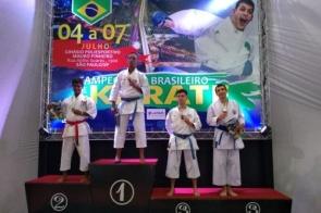 Delegação de MS leva 12 medalhas em nacional de Karate