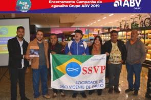 Encerramento Campanha do Agasalho Grupo ABV 2019