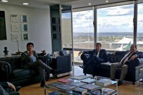 Após agenda cheia, Murilo diz que projetos avançam com ministros empenhados em trabalhar pelo MS