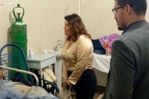 Pacientes renais são flagrados sem água e comida no HV e Defensoria vê caos