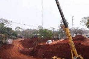 Prefeitura diz que obras no buracão da Presidente Vargas avançam a todo vapor