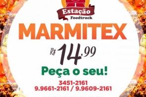 A Marmita mais saborosa da cidade por apenas R$ 14,99  é na Estação Food Truck em Itaporã