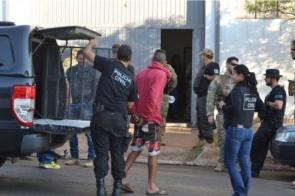 Operação contra o PCC cumpre 30 mandados de prisão em cidades de MS