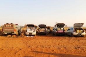 Polícia apreende 7 veículos com mercadorias contrabandeadas em MS