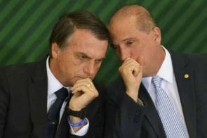 Onyx insinua que Bolsonaro pode deixar o PSL e voltar para o DEM