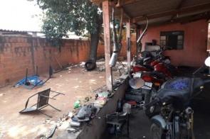 Dupla é presa após 'depenar' e adulterar numerações de motos