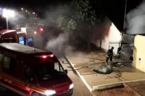 Homem é suspeito de incendiar casa com a ex dentro