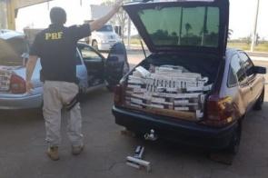 Polícia apreende 25 mil maços de cigarros em Bataguassu