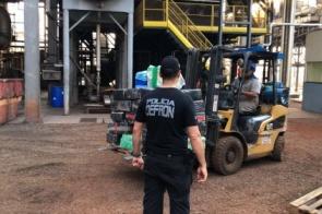 Polícia incinera mais de 10 mil quilos de droga em Dourados