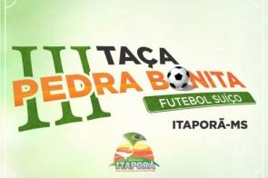 Começa hoje a primeira rodada da III Taça Pedra Bonita de Futebol Suíço