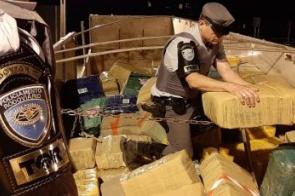 Douradense é preso em SP com mais de 11 toneladas de maconha