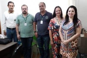 Agentes da Secretaria de Saúde do Estado fazem visita técnica em Itaporã