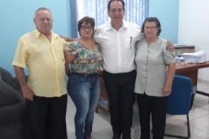 """Diretoria dos """"Amigos da Melhor Idade"""" faz reivindicações ao prefeito Marcos Pacco"""