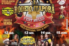 Saiba quais são as Regras Judicias para os menores que irão frequentar o 1º Rodeio Itaporã Fest Bulls