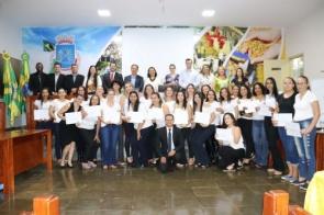GEDU e IFMS certificou 54 formandos de cursos profissionalizantes em Itaporã
