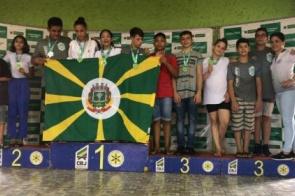 Judocas e Itaporã honram a tradição e nossa bandeira tremula no pódio Jogos Escolares de 2019
