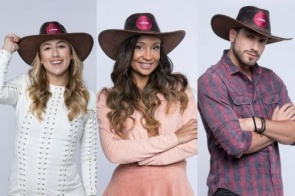 A Fazenda 2019: Bifão, Drika e Guilherme formam a primeira roça