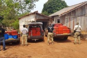 Polícia encontra quase duas toneladas de maconha em depósito