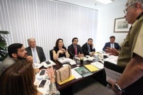 Orçamento: bancada de MS recebe demandas de entidades e órgãos públicos