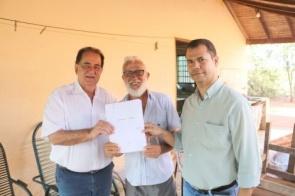 Prefeitura de Itaporã regulariza documentação do Carumbé