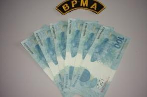 Paraibanos são preso com notas falsas de R$ 100,00 na região de fronteira