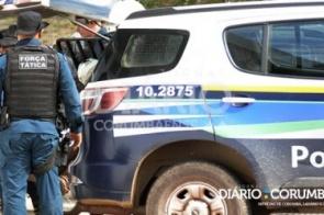 Polícia prende homem suspeito de cometer triplo homicídio